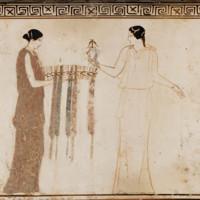 two women, domestic, fillets, basket, MFA.jpg